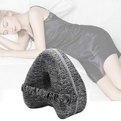 ☀ Dergo ☀ Relief Leg Pillow Memory Foam Leg Positioner Pillows Knee Pad For Side Sleepers