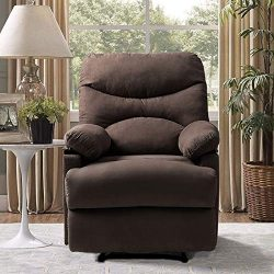 Vosson Massage Recliner Chair Heated Ergonomic Massage Chairs Recliner Microfiber Heated Recline ...
