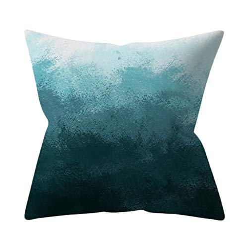 HAPPIShare Fashion Gray Pillow Case Sofa Car Waist Throw Cushion Cover Home Decor 18 x 18 Inch