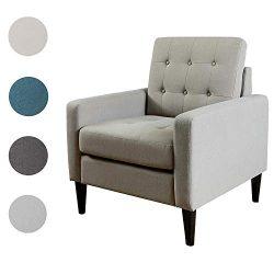 Dark Brown Christopher Knight Home 302085 Laird Ckh Arm Chair Beige Chairs