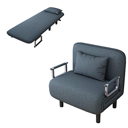 Alalaso Convertible Bed Chair Sleeper Folding Sofa Sleeper Chair Lounger Couch Bed Chair (Ship f ...