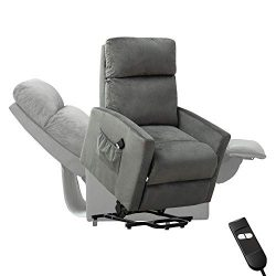 Power Lift Chair,BONZY HOME Electric Lift Recliner Sofa Lounge 90 to 150 Degree Adjustable Padde ...