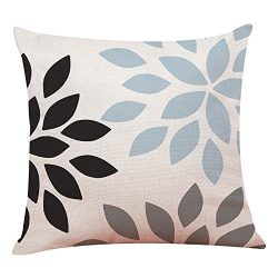HAPPIShare Modern Geometric Throw Pillow Covers Cotton Linen Home Decor 45 x 45 cm Home Decor 18 ...