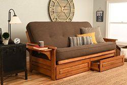 Kodiak Furniture KFPHDBBLCOCLF5MD4 Phoenix Futon Set, Full, Barbados
