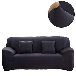 INMOZATA Stretch Sofa Couch Cover Loveseat Sofa Slipcover Polyester Spandex Living Room Sofa Fur ...