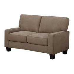 Truly Home Andrew, 61″ Loveseat, Tan