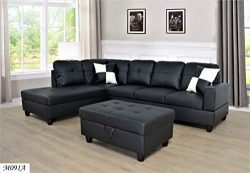 Lifestyle Facing Left Chaise 3PC Sectional Set