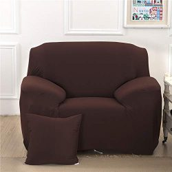 Recliner Stretch Sofa Slipcover Sofa Cover Furniture Protector Couch Soft with Elastic Bottom Si ...