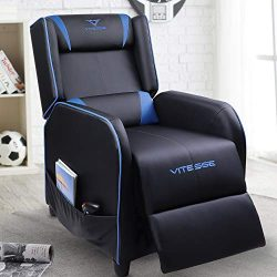 VIT Gaming Recliner Chair Racing Style Single PU Leather Sofa Modern Living Room Recliners Ergon ...