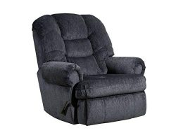 Lane Home Furnishings 4501-19 Gladiator Charcoal Rocker Recliner