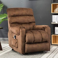ANJ Power Lift Recliner Chair for Elderly – Heavy Duty and Safety Motion Reclining Mechani ...