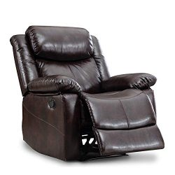 Romatpretty Classic Seat Removable Sofa Recliner Chair Theater Seating -Padded armrests, Easy As ...