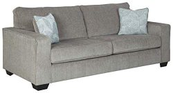 Signature Design by Ashley – Altari Modern Sofa Sleeper, Alloy