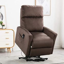 Bonzy Home Lift Recliner Chair Electric Power Recliner with Remote Control – Home Theater  ...