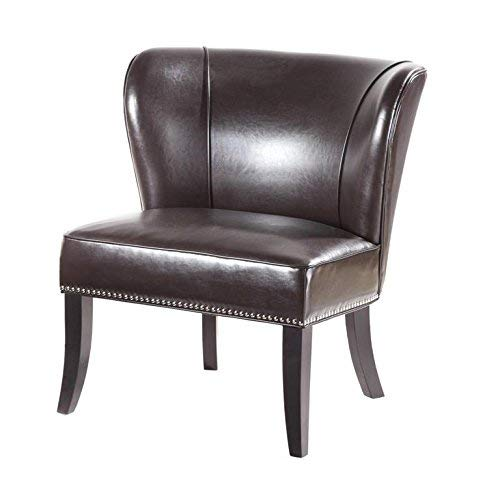 Madison Park Hilton Accent Chairs – Hardwood, Plywood, Wing Back, Deep Seat Bedroom Lounge ...