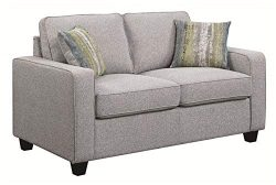 Scott Living Brownwood Loveseat, Grey