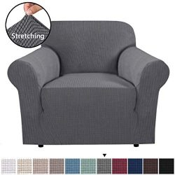 H.VERSAILTEX Stretch Chair Slipcover Sofa Cover Furniture Protector Cover Luxury Lycra High Span ...