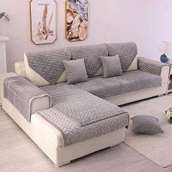 TEWENE Couch Cover, Sofa Cover Couch Covers Sectional Couch Covers Anti-Slip Sofa Slipcover for  ...