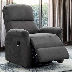 Bonzy Home Power Lift Recliner Chair for Elderly – Simple Electric Lift Chairs Recliner Re ...