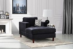 Housel Living Lounge, Black