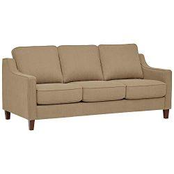 Stone & Beam Blaine Modern Sofa Bed – 78 Inch, Beige
