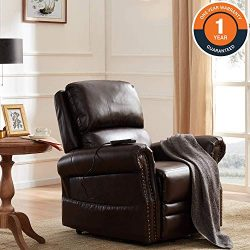 Lift Chair for Elderly Lift Chairs Power Reclining Chair Sofa Electric Recliner Chairs with Remo ...