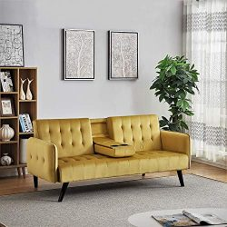 US Pride Furniture Sofabed, Sleeper, Gold