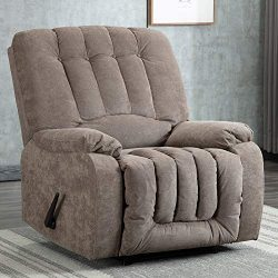 Manual Recliner Chair – Oversized Recliner Reclining Chair Pull Recliner Sofa, Contemporar ...