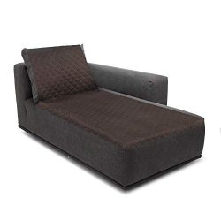 Rose Home Fashion RHF Reversible Chaise Lounge Cover, Chaise Lounge Slipcover, Sectional Couch C ...