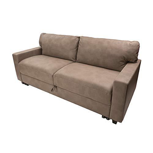 Camper Comfort 68″ Rollout Sleeper Sofa | Color: Coddington Taupe RV Furniture | RV Sleepe ...