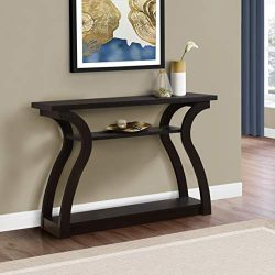 Monarch Specialties 47″ Console Table – Sleek and Modern Accent Table for Your Home  ...
