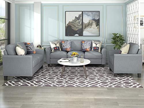 Harper&Bright Designs Sofa Set, Living Room Sofa Set