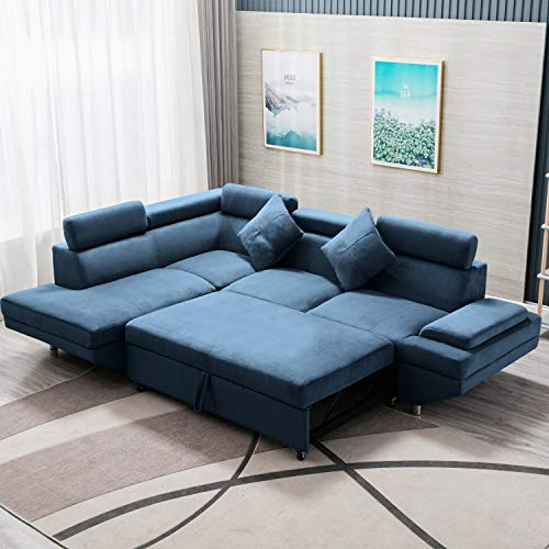 Sleeper Sofa Bed Sectional Sofa Futon Sofa Bed Sofas for Living Room Furniture Set Modern Sofa S ...