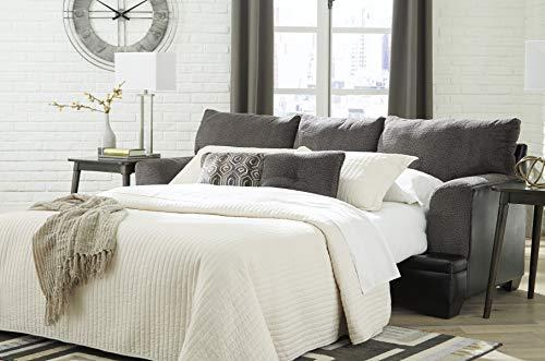 Signature Design by Ashley – Millingar Contemporary Queen Sofa Sleeper, Smoke Grey