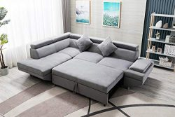 Sleeper Sofa Bed Futon Sofa Bed Sectional SofaSofas for Living Room Furniture Set Modern Sofa Se ...