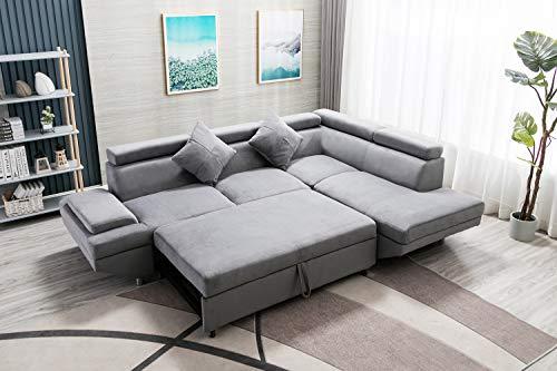 Sectional Sofa Sleeper Sofa Bed Futon Sofa Bed Sofas for Living Room Furniture Set Modern Sofa S ...