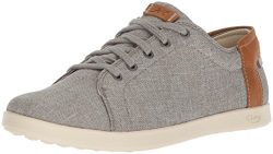 Chaco Women's Ionia Lace Up Shoe, Gray, 9 M US